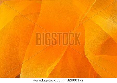 Orange and yellow textile