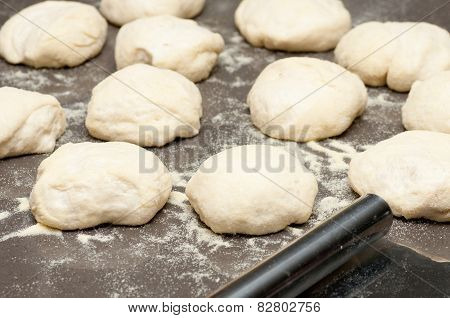 Bread Roll Dough