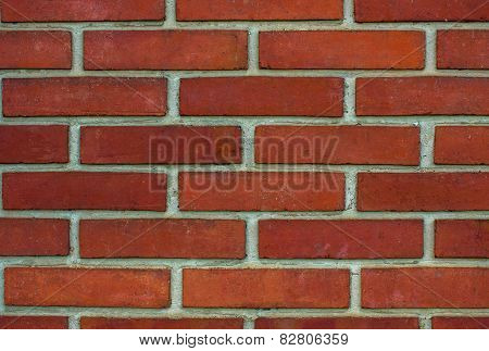 Wall made of brick