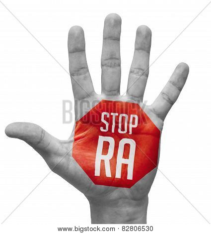 Stop RA on Open Hand.