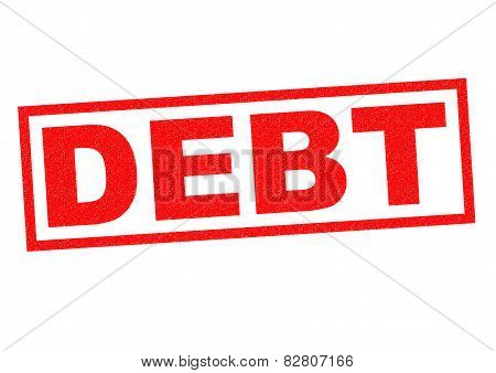 Debt Rubber Stamp