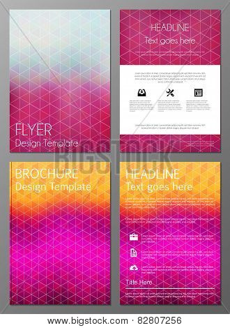 Brochure cover desgn template