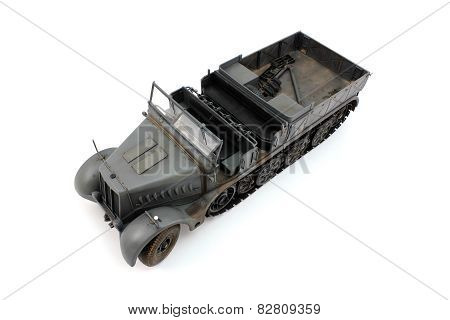Model 18 Ton Half-track German