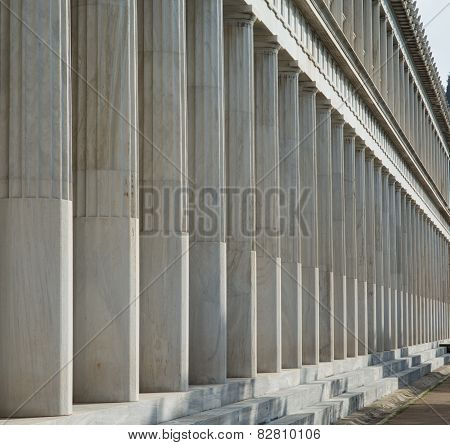 Stoa of Attalos in Athens, Greece