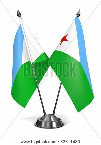 Djibouti - Miniature Flags.