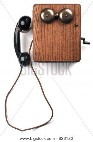 crank telephone