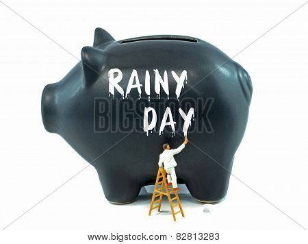 Saving for a Rainy Day