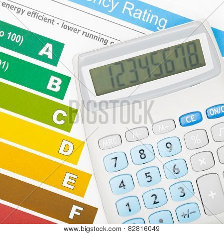 Calculator Over Energy Efficiency Chart