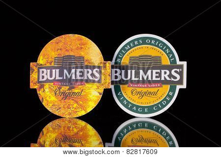 Beermats From Bulmers Cider.