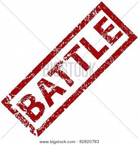 Battle rubber stamp