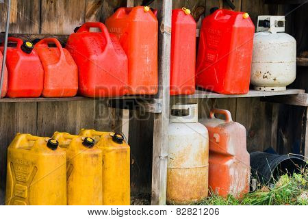 Jerry Cans And Propane Tanks