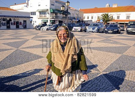 Woman of Nazare