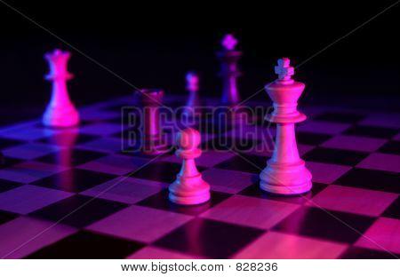 chess game dark