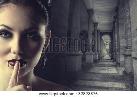 Sexy Female Vampire