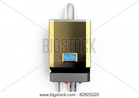 Golden Home Gas-fired Boiler, Water Heater 2