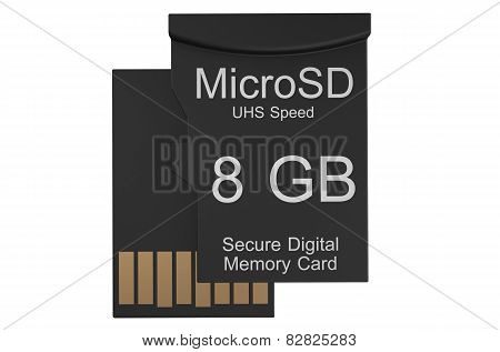 Micro Sd Memory Card 8 Gb
