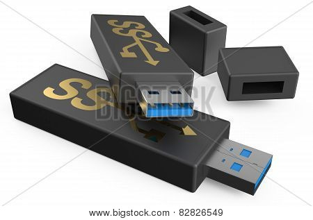 Usb Flashes Drive Ss 3.0