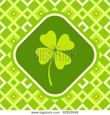 Banner With Clover