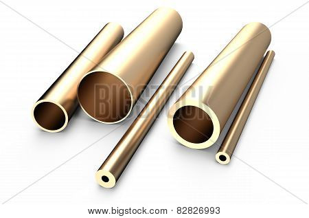 Rolled Metal, Bronze Tube