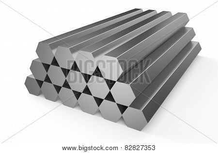 Rolled Metal, Hexagon