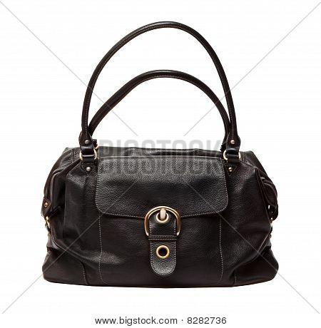 Black Women Bag Isolated