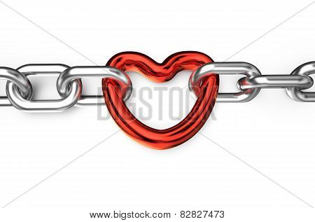 Heart Connected Chain