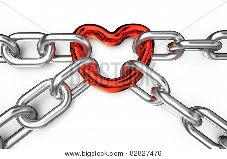 Heart Connected Chains
