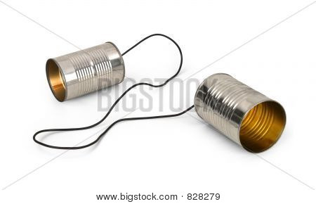 tin can telephones
