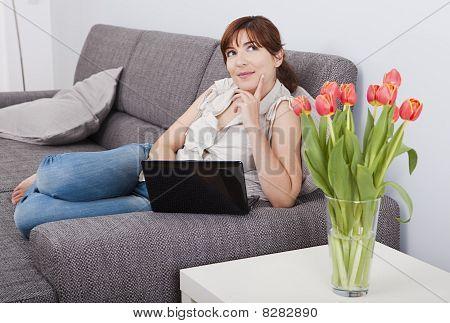 Trabalhando com um Laptop