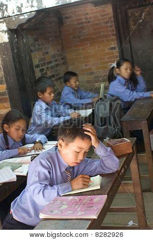 Elementary School In Kathmandu