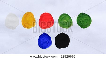 Spot Color Gouache