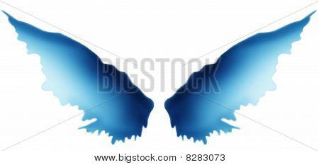 Blue Flare Wings