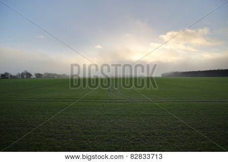 Rising Storm Over Grubenhagen