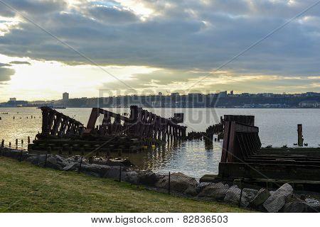 New York Central Railroad 69Th Street Transfer Bridge