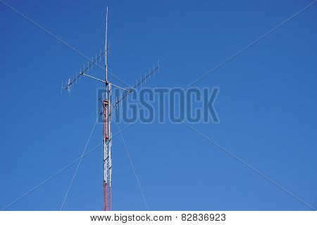 Tower Of Antenna Signal