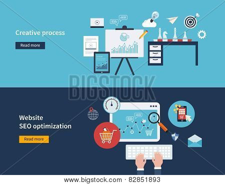 Creative process and SEO