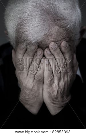 Crying Old Man