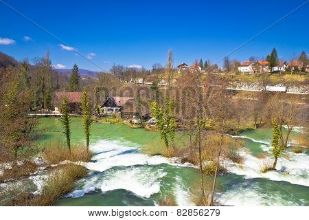 Green River Village Of Rastoke