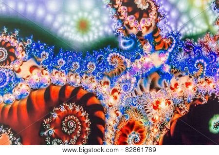 Brightly colored fractals