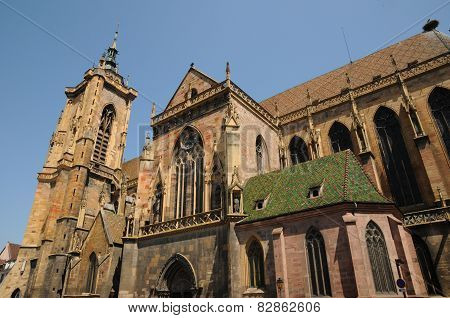 France, Collegiate Church Saint Martin Of Colmar