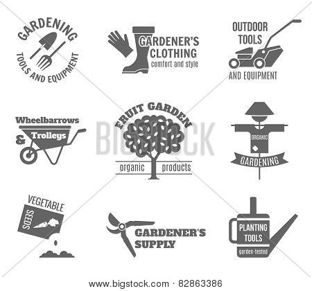 Garden Label Set