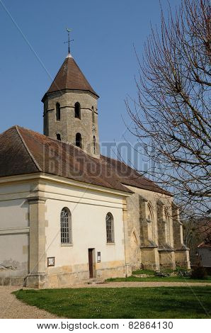 The Classical Church Of Condecourt  In Val D Oise