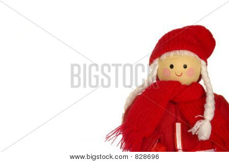 Mother Christmas doll