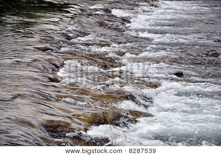 River of spring water