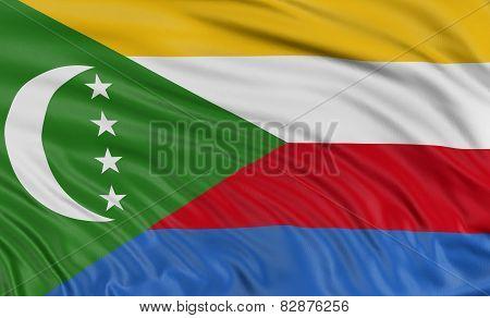 3D Comoros flag