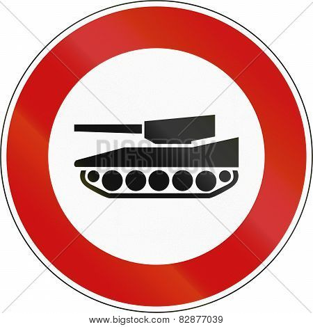 No Tanks