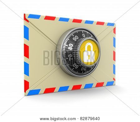 Letter protection (clipping path included)