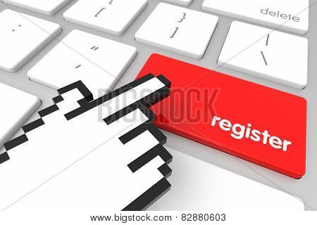 Register Enter Key