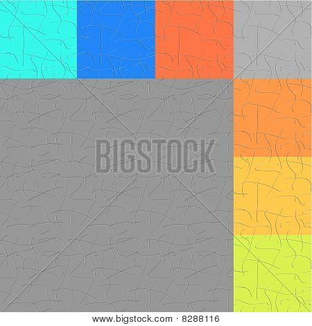 vector seamless abstract lines