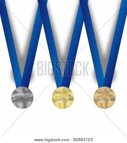 Set Of Medal